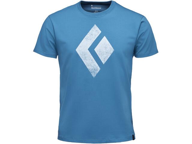 Black Diamond Chalked Up - T-shirt manches courtes Homme - bleu